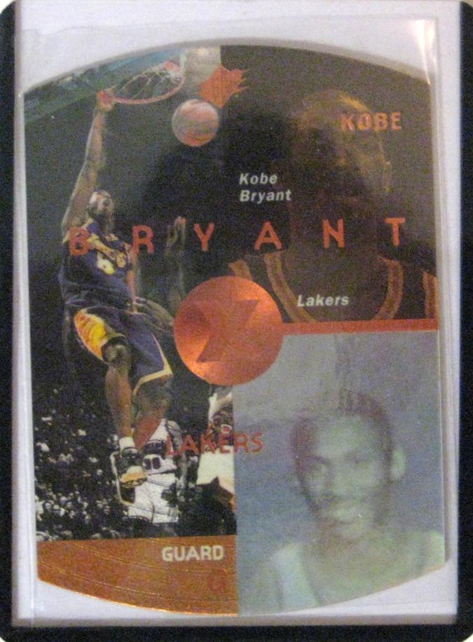 1997-98 SPX Bronze Kobe Bryant