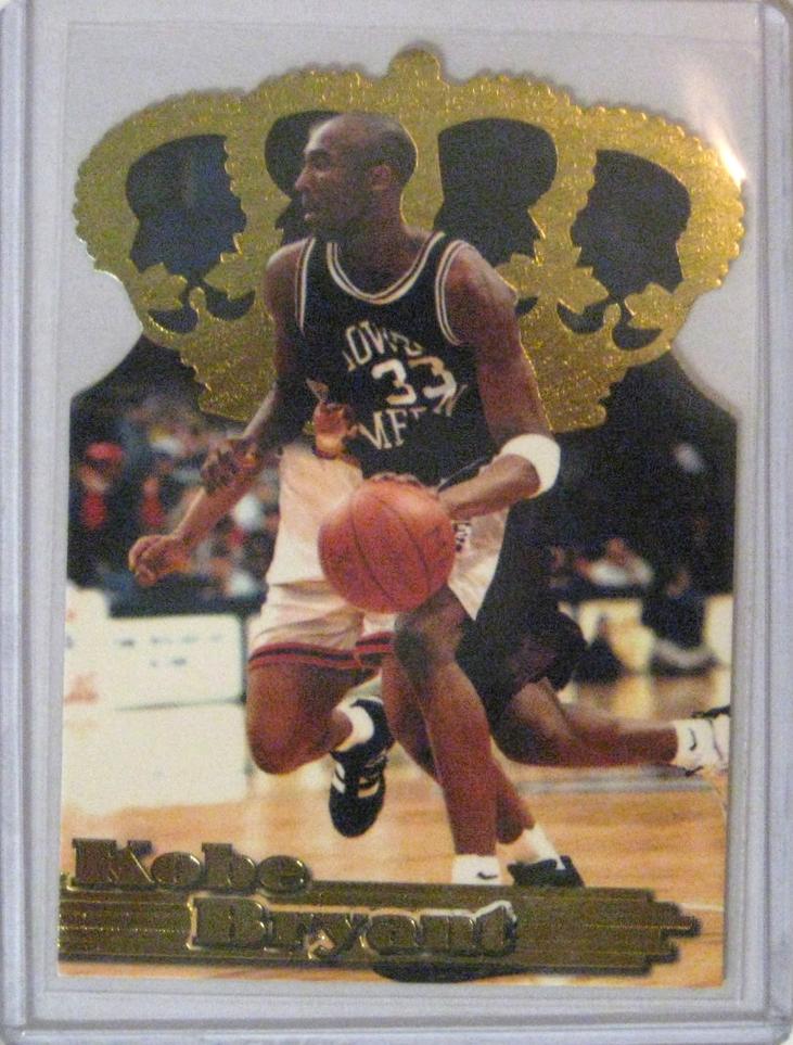 1996 Pacific Power Gold Crown Die Cut Kobe Bryant