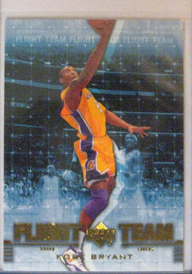 2006-07 Upper Deck Flight Team Gold Kobe Bryant