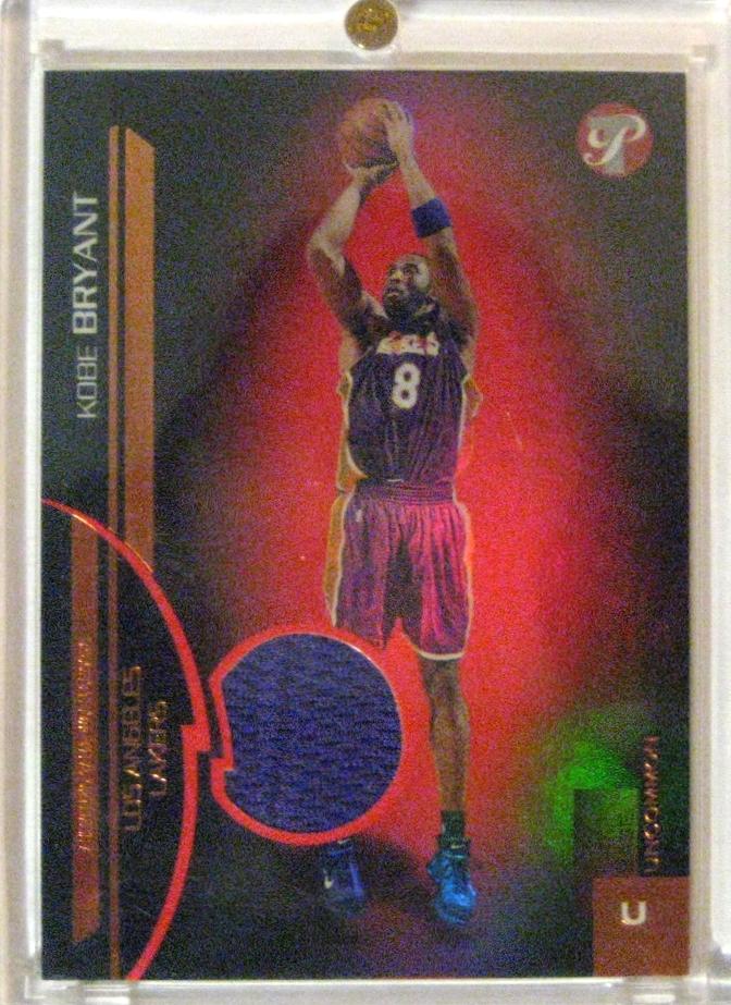 20050-06 Topps Pristine Game Worn Shorts #/500