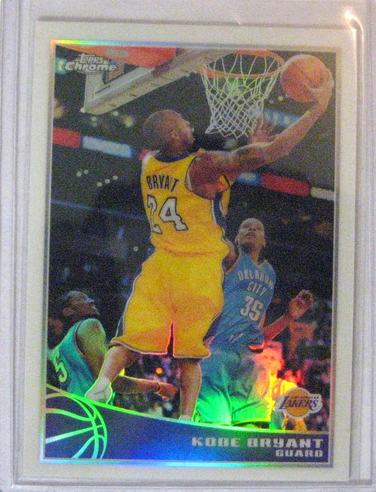 2009-10 TOpps Chrome Kobe Bryant
