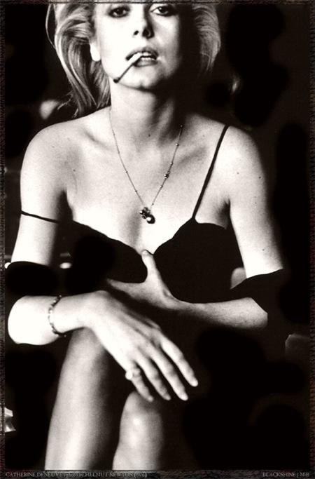 ELSKER Helmut Newton, spesielt Cathrine Deneuve-bildene