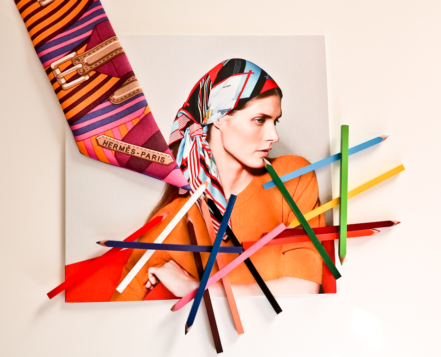 Scarf and invitation by Hermès. Photo by Nina Buzzi