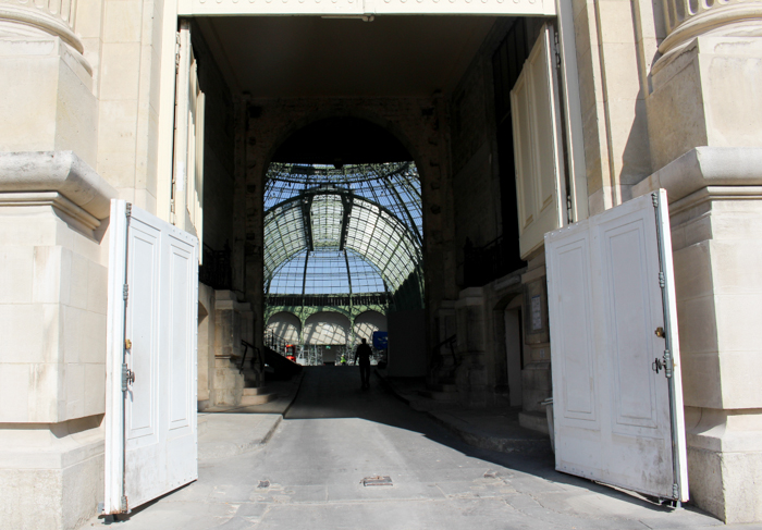 Le Grand Palais - yes it's GRAND!