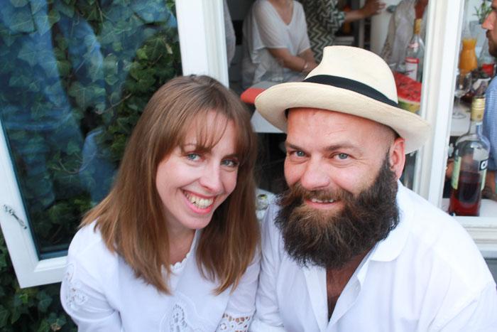Anja Stang og John Andre Hanøy.