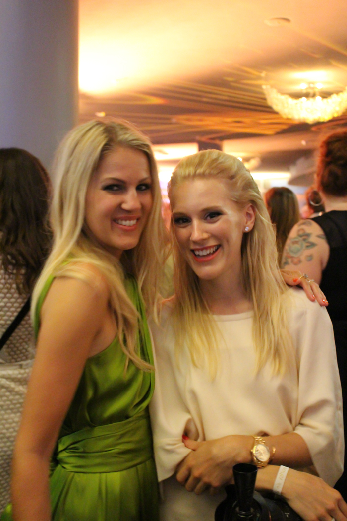 Dagny  and  Tine  looking fab!