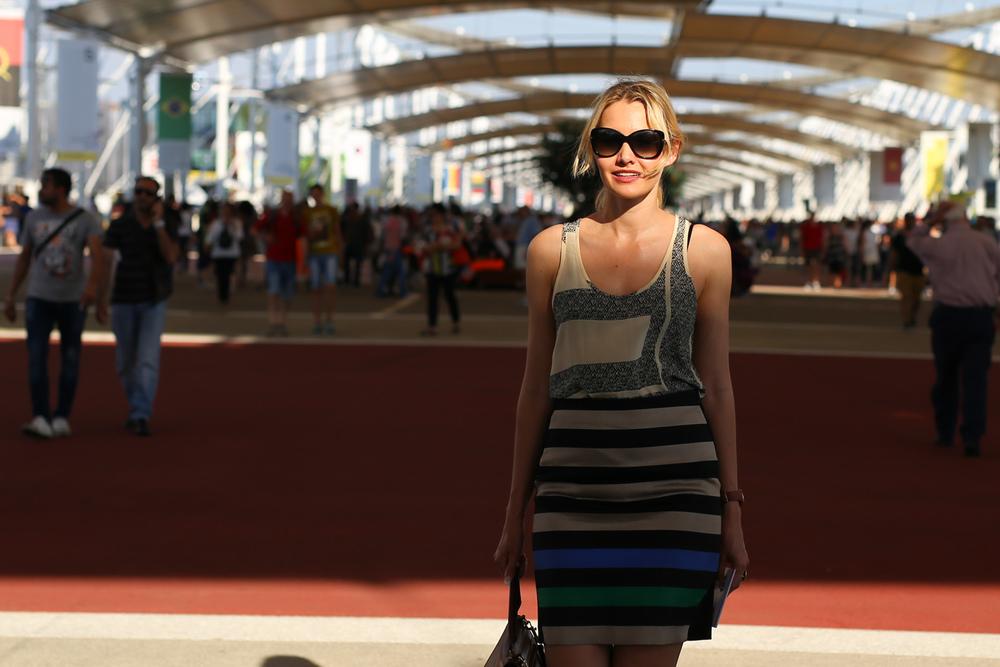 Nina Buzzi Expo Milan 2015