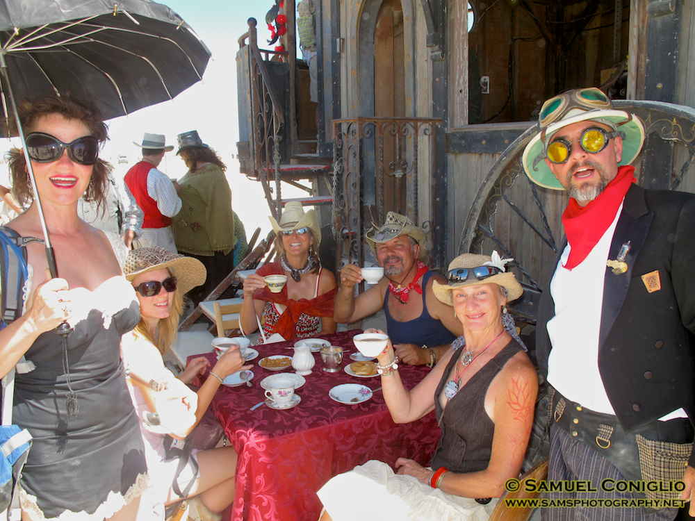 Rapid Deployment Tea Service at Burning Man