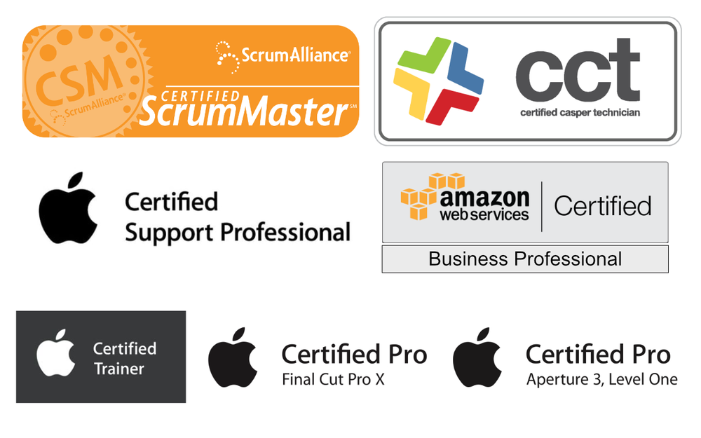 Certifications -