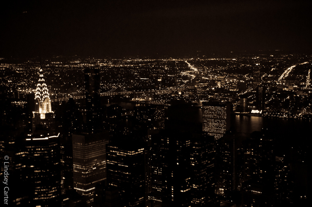 NYC from the Empire State Building