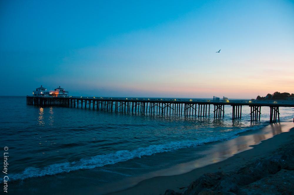 Malibu Fishing Pier