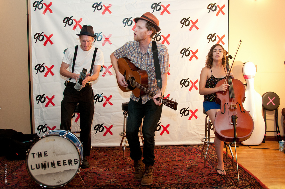 The Lumineers 96X Session