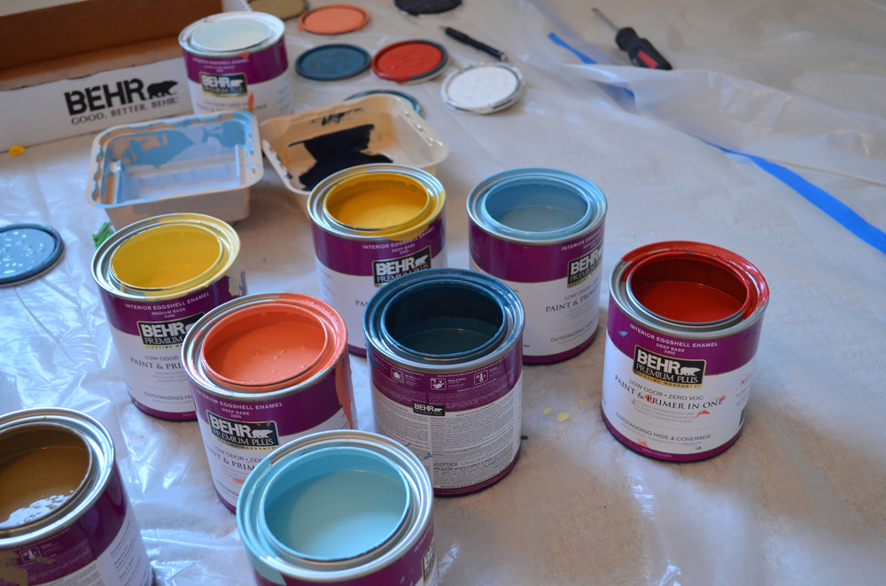 Behr paint is hands down the best!