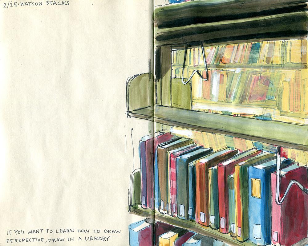 Watson Library 2/25/15