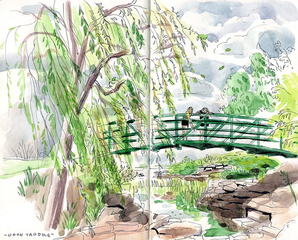 """Monet's Garden"" at the Overland Park Arboretum"
