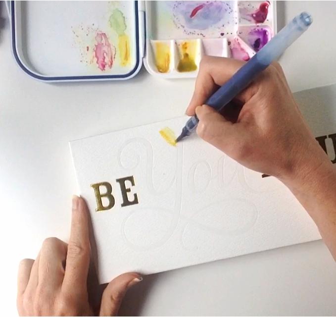 watercolor flower tutorial