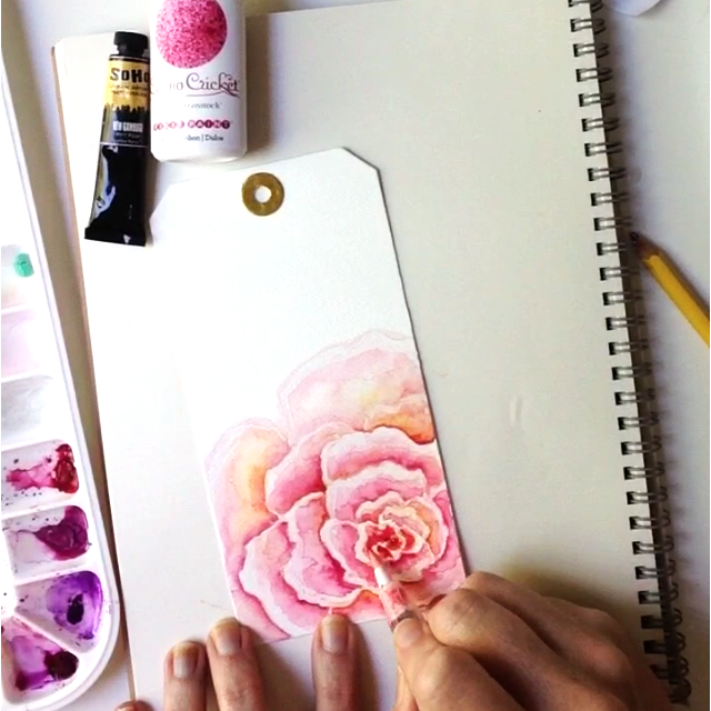 Modern watercolor techniques