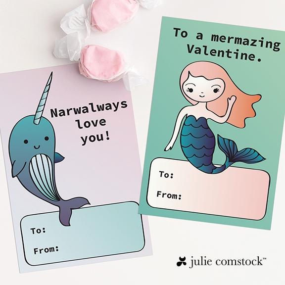 8 free valentine cards printable julie comstock