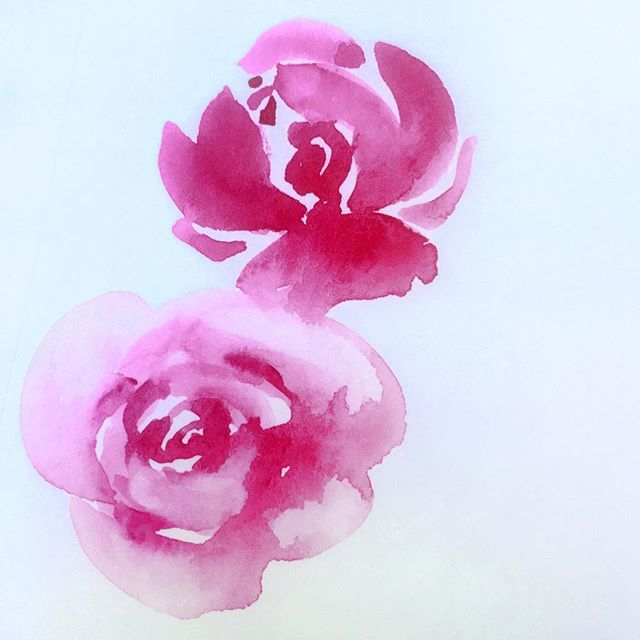 "Who wants to learn how to paint watercolor roses? I'm teaching roses, wildflowers and leaves in the 21 Secrets Just Add Water watercolor class series. It goes on sale today and you can save 10% this week with the code ""summer"". The classes will start in July. There's more info at the link in my profile if you're interested!⠀ ⠀ #21secrets #watercolorclass #watercolorart #artjournal #learntopaint #watercolors #watercolorrose #watercolorillustration #watercolorartist #livecreatively #shareyourtalent #blossoming"