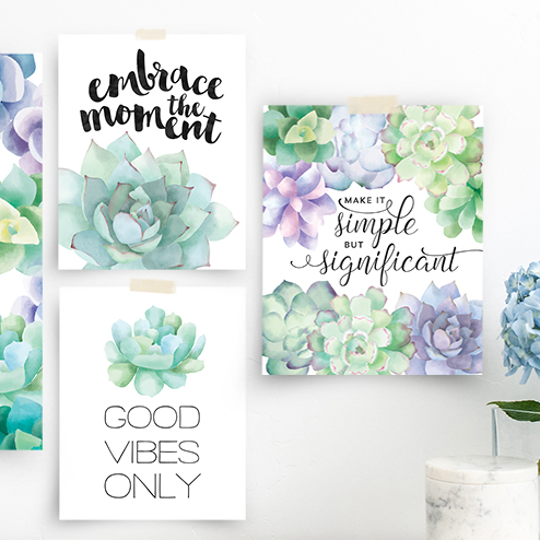cheap and easy wall decor