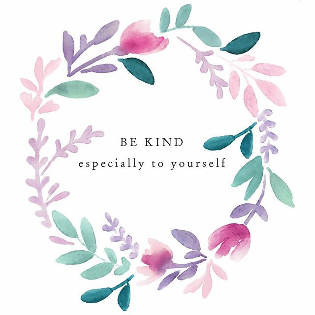 It's good to be kind to everyone, for that is right you see. So I say to myself, remember this, kindness begins with me.  #bekindtoyourself #watercolours #creativepreneur #creativelife #handpainted #smallart #makeitblissful