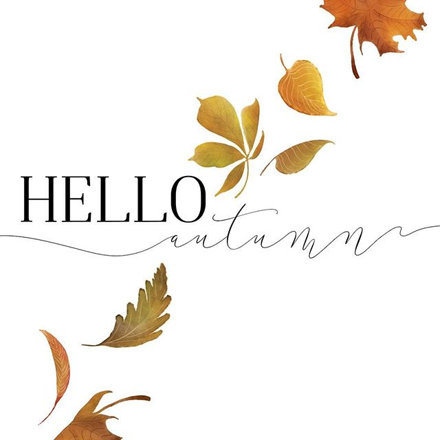 It's officially here, and I couldn't be happier. Until it gets really cold and dark that is!  #falldecor #watercolor_art #creativelife #digitalsticker #printdesign #helloautumn #crafters #digitaldownload