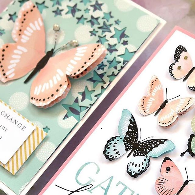 Look at the gorgeousness created by @natalieelph using the butterfly digital sticker download! She is amazing!  #craftsposure #womenartists #capturemycraft #creativityeveryday #createeveryday #cardmaking #makersmarket #creativelife #waketomake #digitalsticker