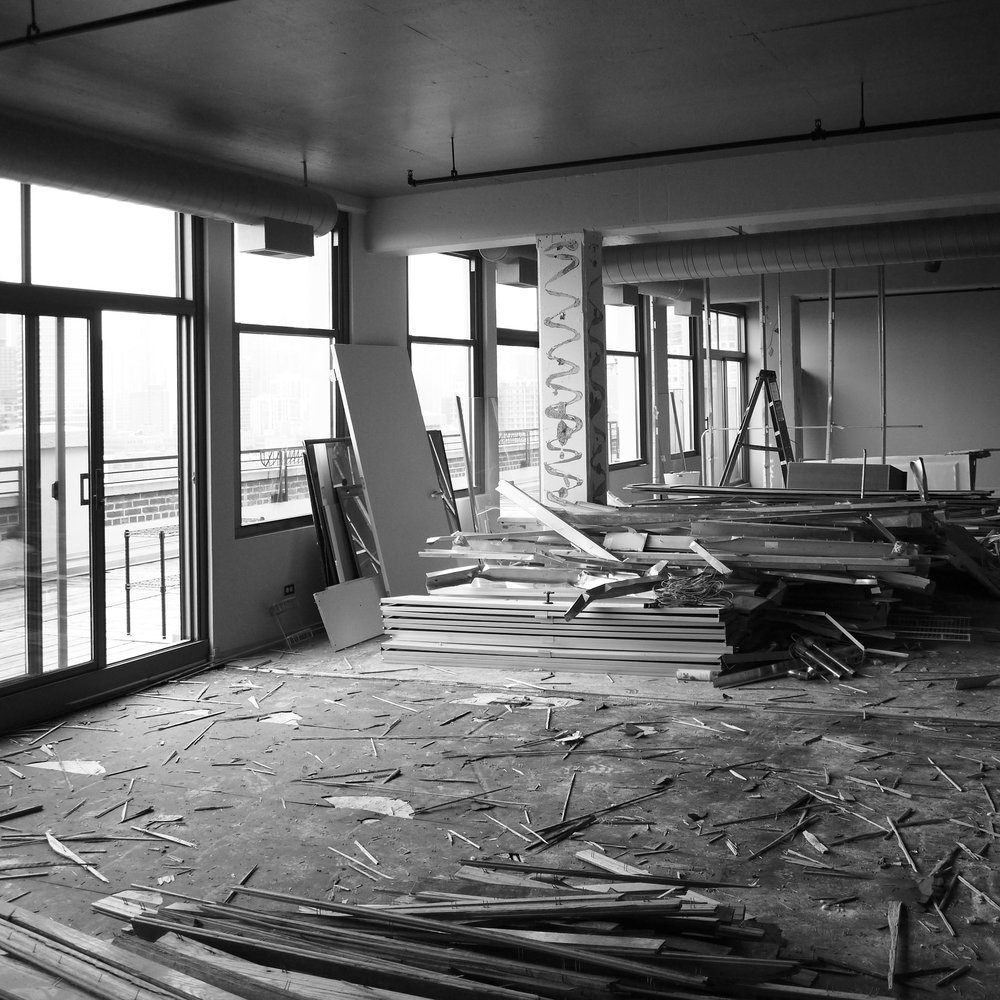 Montgomery Ward Loft (Under Construction) - Interior Renovation, Chicago