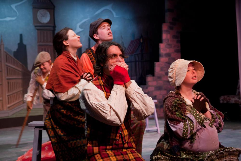 Theater: Mrs. Bob Cratchit's Wild Christmas Binge