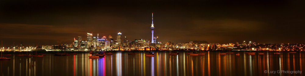 *** 'Auckland City at Night'
