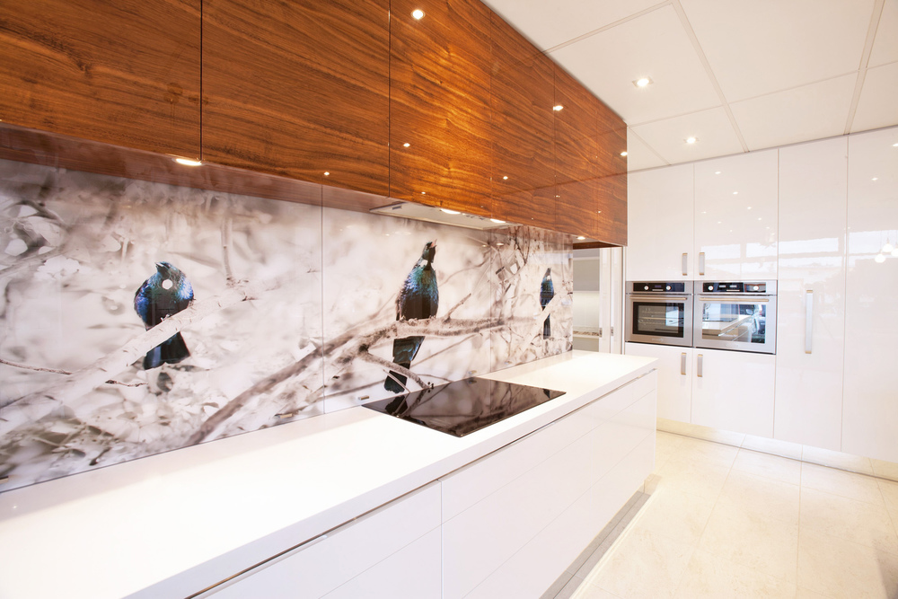 Tui Song printed 'image on glass' splashbacks
