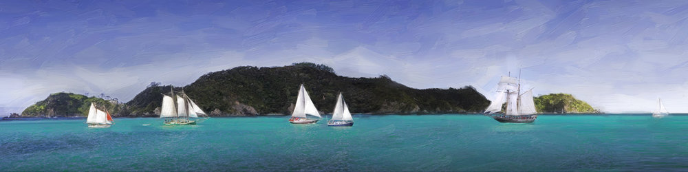BOI-Sailing Race (digital painting)