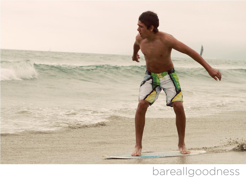 Santa Monica Skim Board