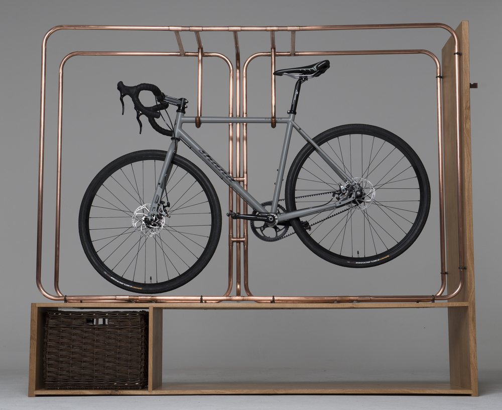 A beautiful bicycle is a work of art, and just as every artist needs a canvas, every work of art needs a frame