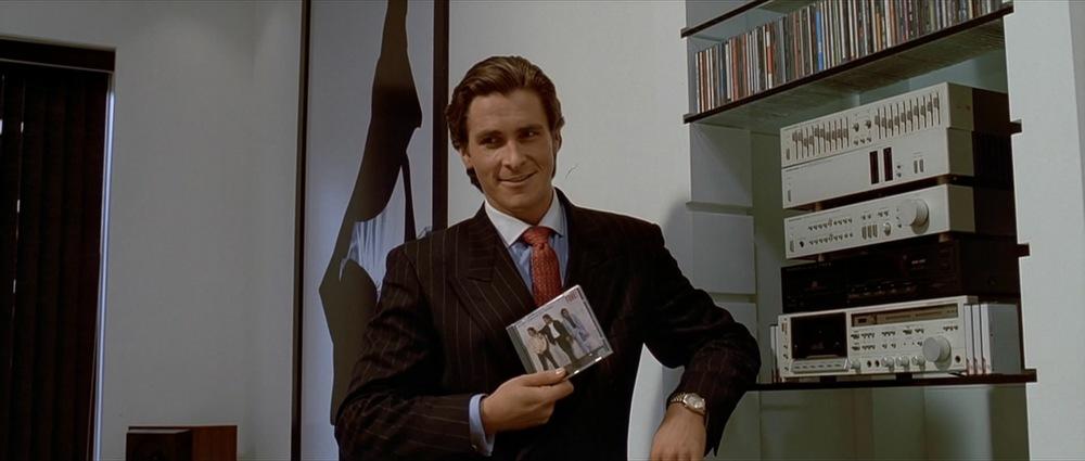 Christian Bale som karakteren Patrick Bateman i filmen American Psycho (2000)