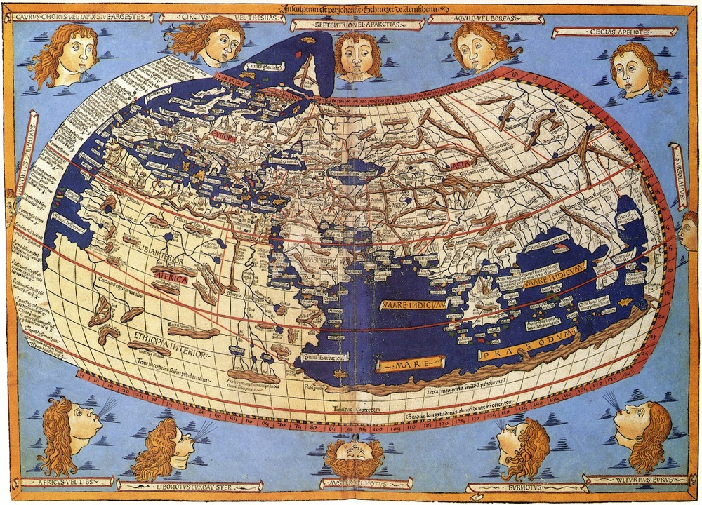 Claudius Ptolemy: The World (1482)
