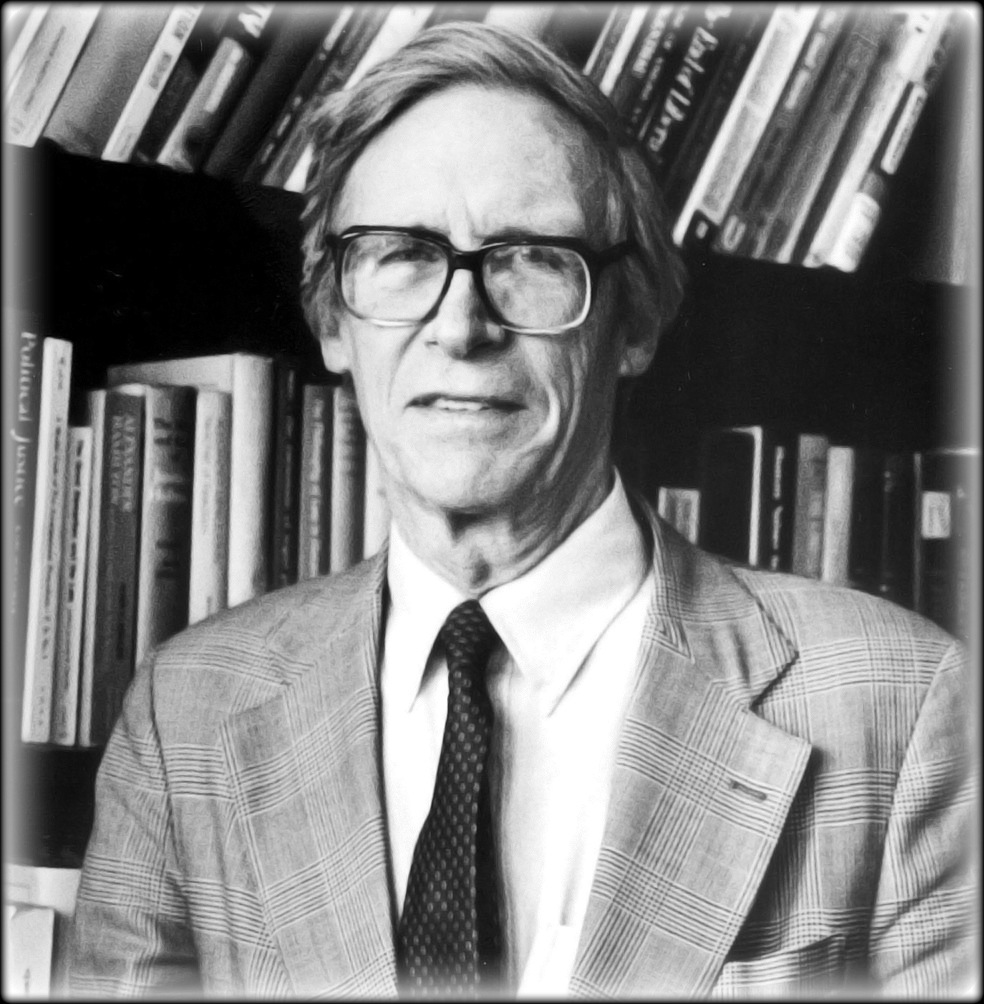 John Rawls (1921–2002). Politisk filosof.
