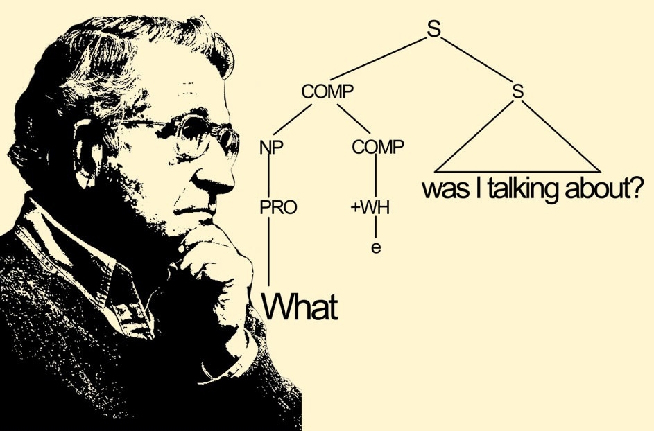 Noam Chomsky om grammatikk