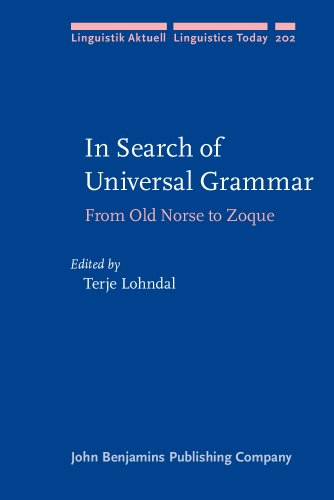 In Search of Universal Grammar (2013) @ Studia