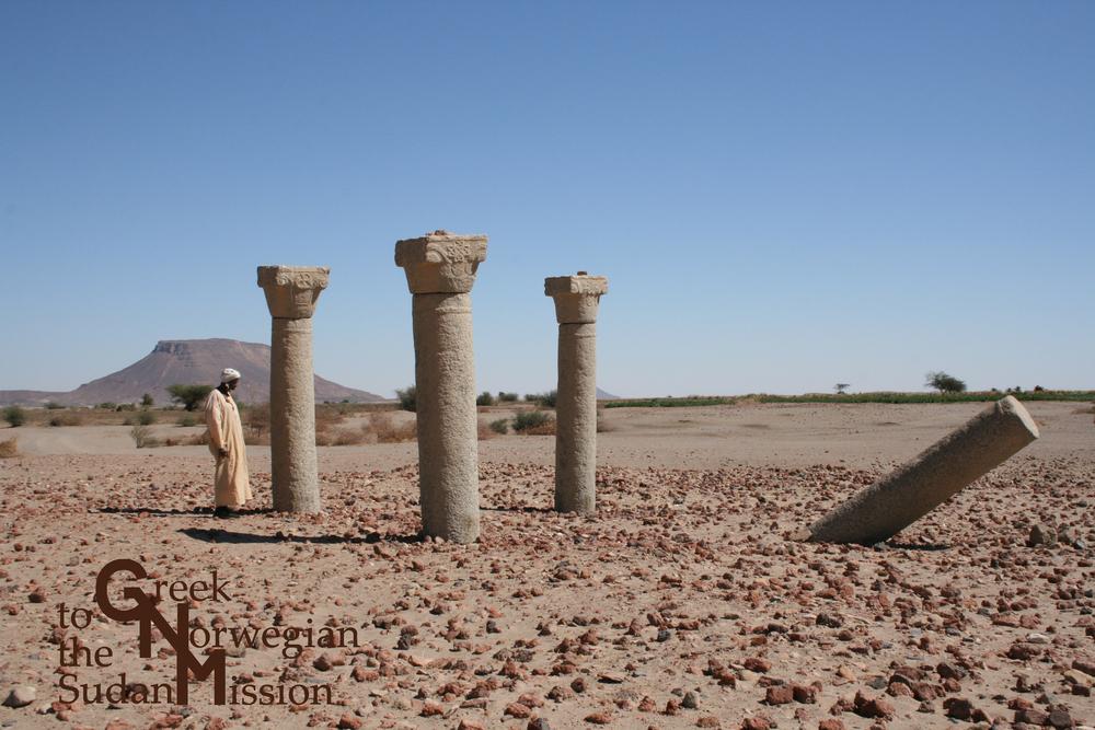 Bilde fra øya Saï i Sudan.
