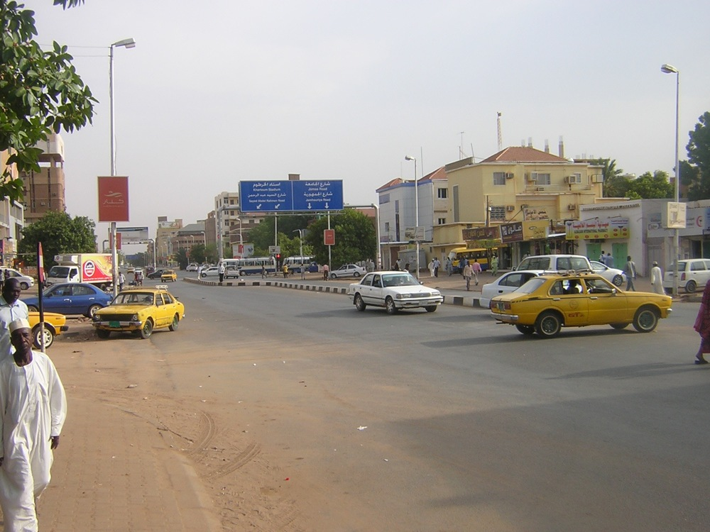 Al-Quasar Street in Khartoum, Sudan. Photo by Petr Adam Dohnálek, CC BY-SA 3.0