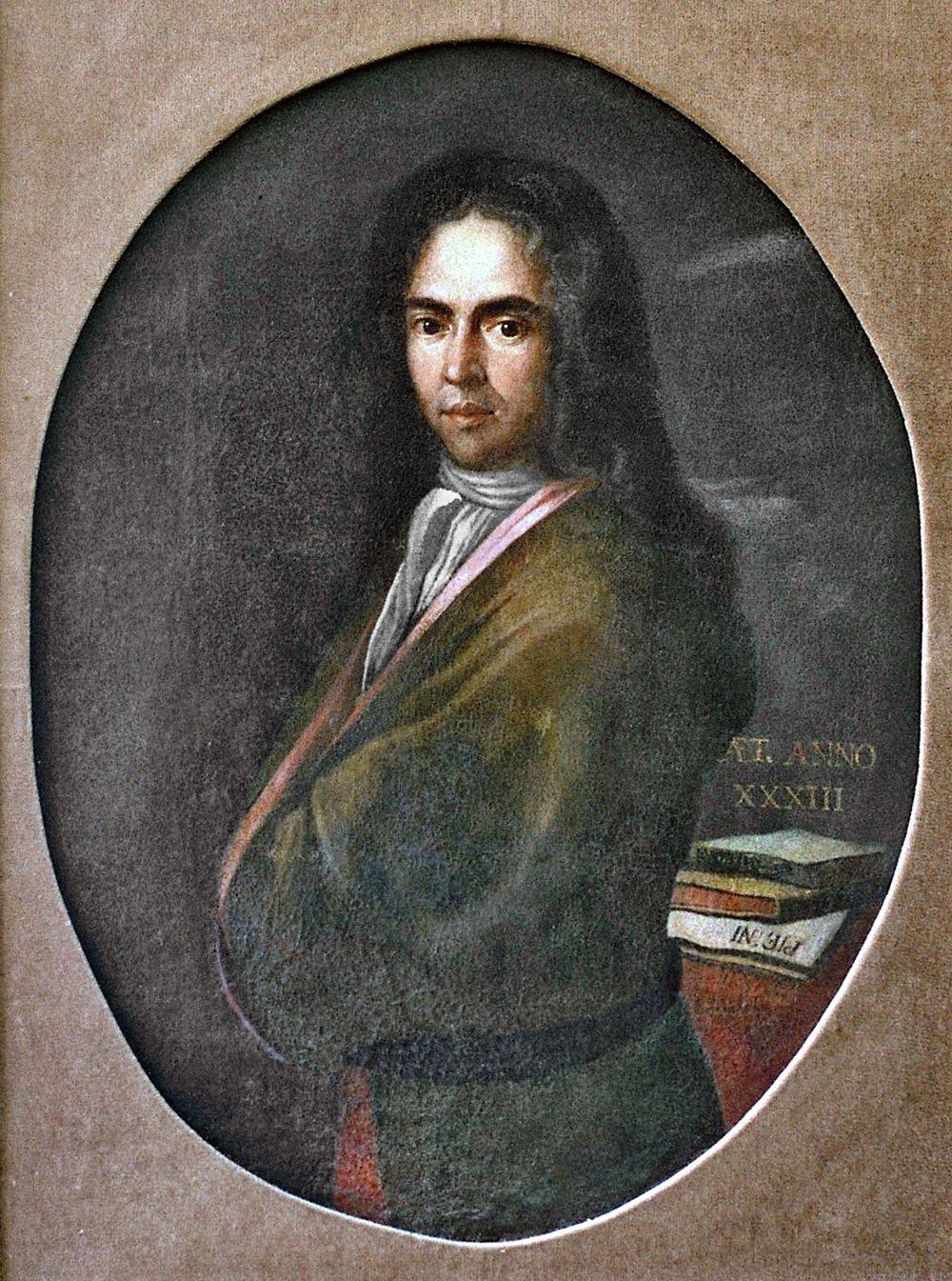 Det første kjente portrett med en cravat er av den kroatiske poeten Dživo Franov Gundulic (1589–1638).
