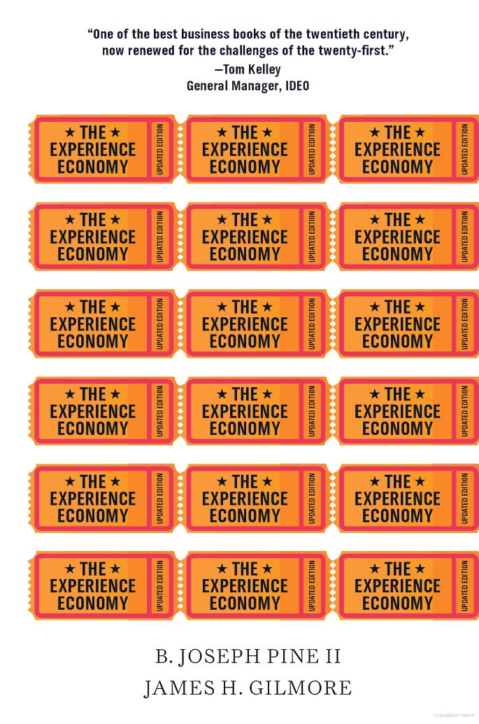 The Experience Economy @ Bibsys
