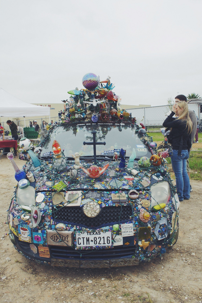 Never apologize for your art car.