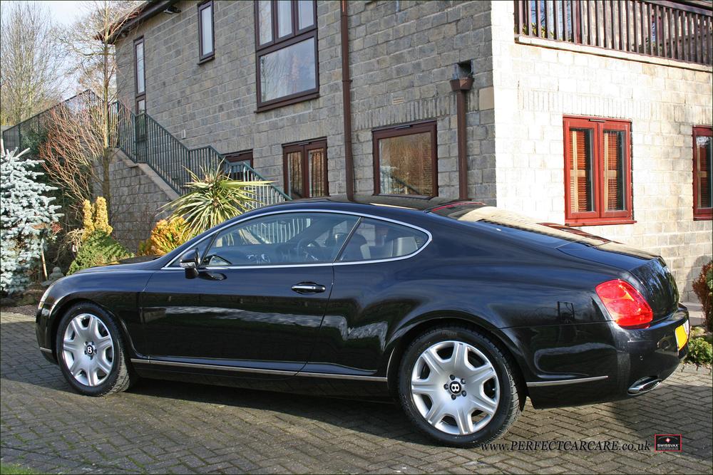 Bentley Continental GT - Paintwork Gloss Enhancement Detail