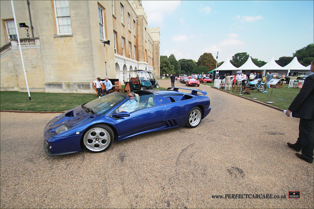 1999 Lamborghini Diablo SV Spyder, one of only two RHDs.