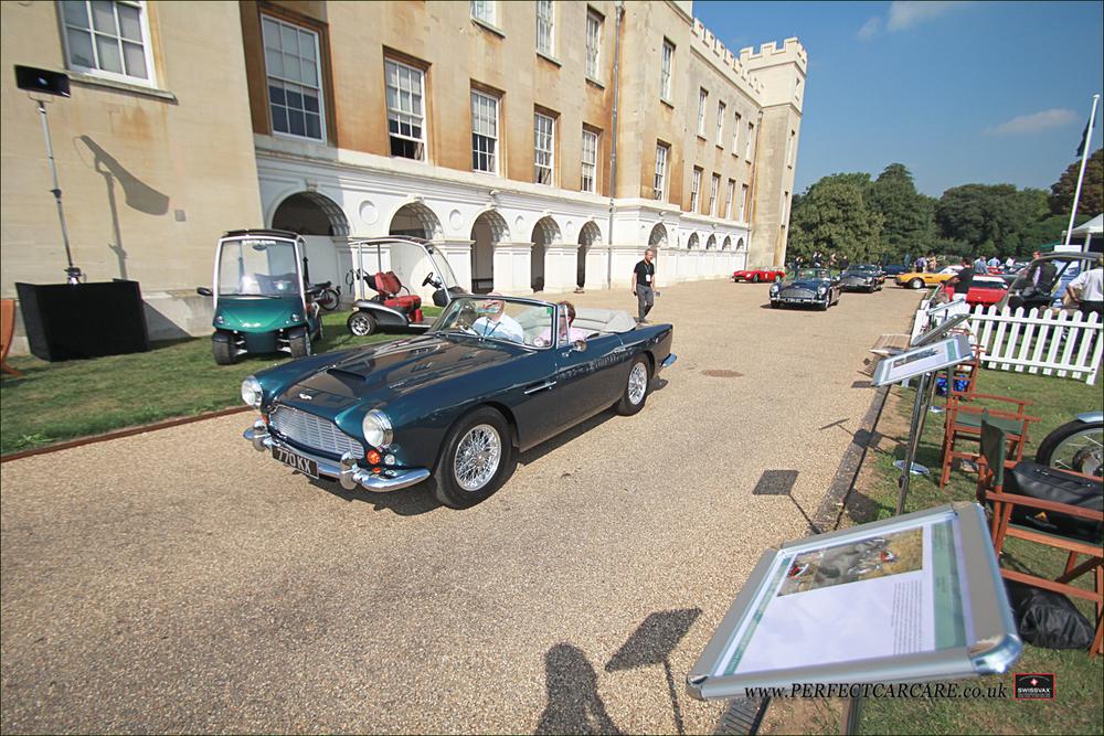 1963 Aston Martin DB4 Vantage Convertable