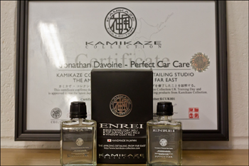 Perfect Car Care are Derbyshire's only accredited Kamikaze Collection authorised detailers offering the complete range of ceramic and hybrid coatings including the authorised only 'ENREI' two stage coating.