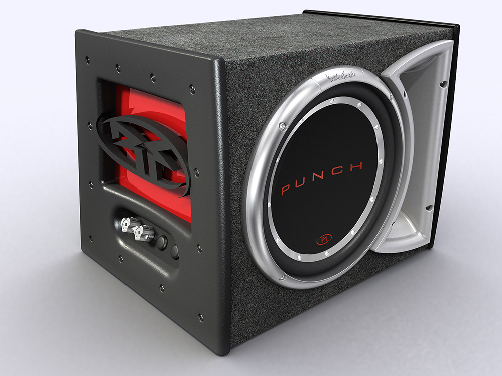 Rockford Fosgate : Punch P1 Woofer Box