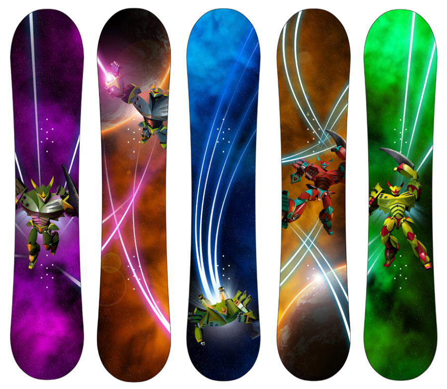 Burton Snowboards, Chopper line